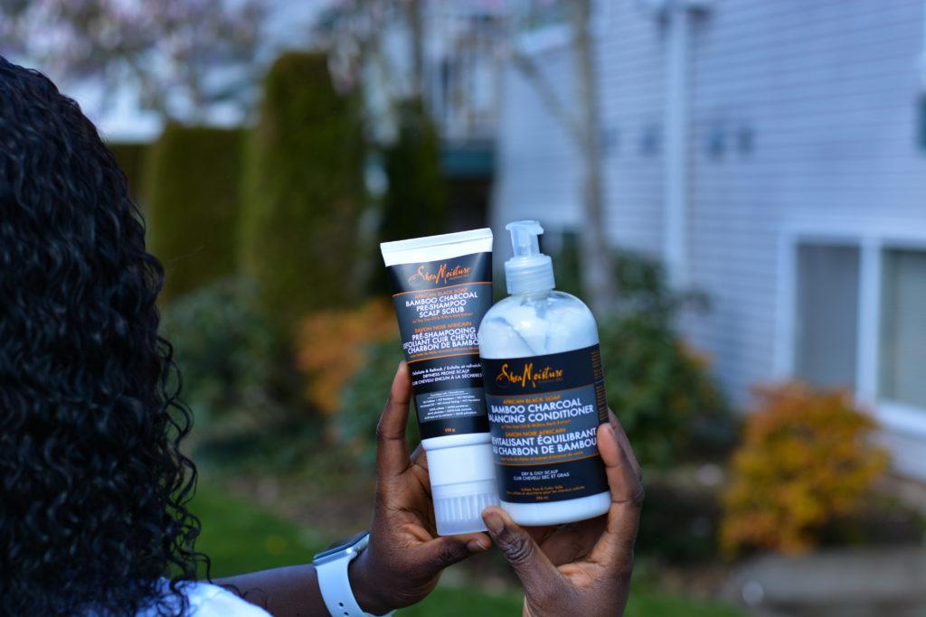 Hair care with Shea moisture